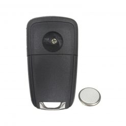 2 Button Remote Car Key Fob Case w/ Battery for Vauxhall Opel Zafira Meriva Astra 1
