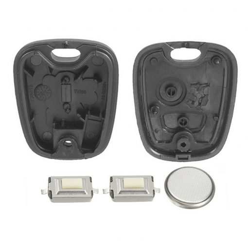 2 Button Remote Key Fob Case Repair Kit for Peugeot 207 307 w/ Logo 2