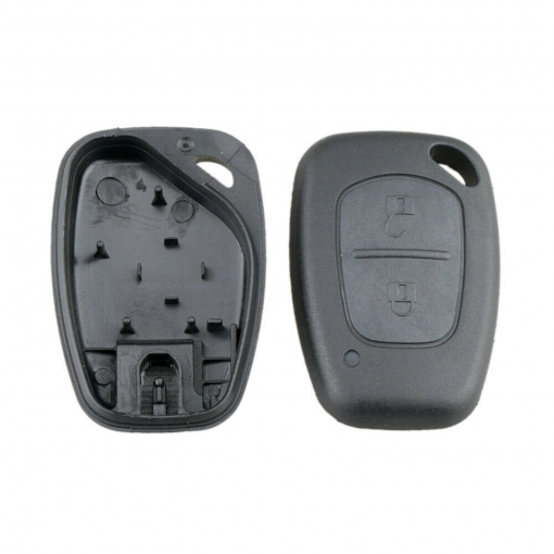 2 Button Replacement Remote Key Fob Case Shell for Nissan Primastar Interstar 1