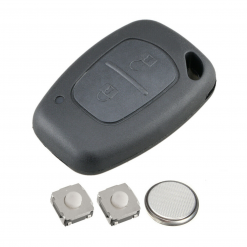 2 Button Remote Key Fob Case Repair Kit for Vauxhall Opel Vivaro Movano Van