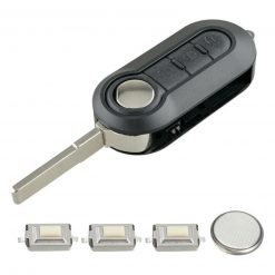 3 Button Remote Flip Key Fob Case Repair Kit for Iveco Daily Euro Cargo Van 4