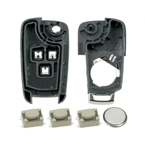 3 Button Remote Key Fob Case Repair Kit for Vauxhall Opel Astra J Insignia A Cascade 3