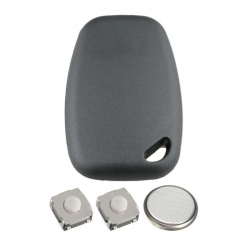 2 Button Remote Key Fob Case Repair Kit for Vauxhall Opel Vivaro Movano Van 4