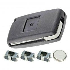 3 Button Remote Key Fob Case Repair Kit for Citroen Dispatch Peugeot Partner VAN 2