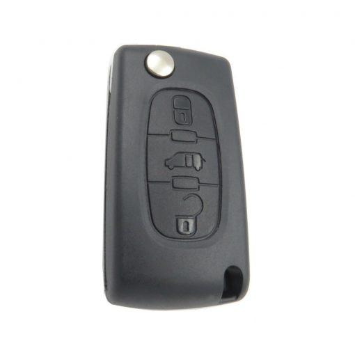 3 Button Remote Key Fob Case for Peugeot Citroen Berlingo Partner Dispatch Van