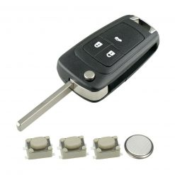 3 Button Remote Key Fob Case Repair Kit for Vauxhall Opel Astra J Insignia A Cascade
