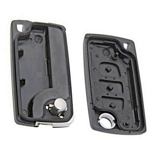 3 Button Remote Key Fob Case for Peugeot Citroen Berlingo Partner Dispatch Van 1