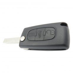 3 Button Remote Key Fob Case for Peugeot Citroen Berlingo Partner Dispatch Van 3