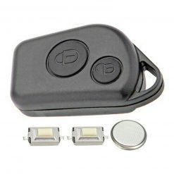 2 Button Remote Key Fob Case Repair Kit for Citroen Berlingo Xsara Picasso Saxo 4