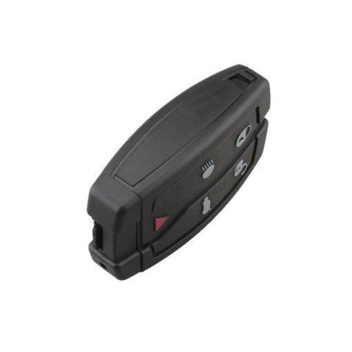 5 Button Dash Remote Key Fob Case Shell for Land Rover Freelander 2 w/ Blade 2