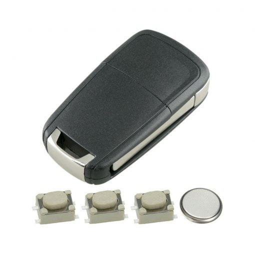 3 Button Remote Key Fob Case Repair Kit for Vauxhall Opel Astra J Insignia A Cascade 4