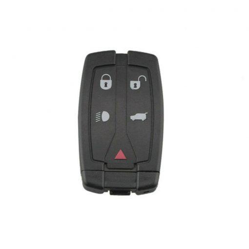 5 Button Dash Remote Key Fob Case Shell for Land Rover Freelander 2 w/ Blade 3