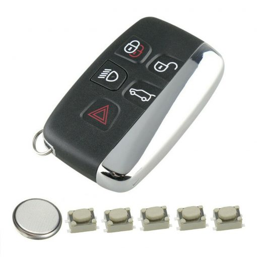 5 Button Remote Key Fob Case Repair Kit for Range Rover Evoque Sport Vogue 2