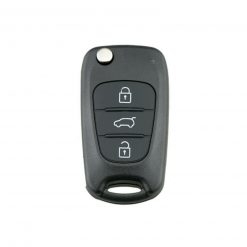 3 Button Remote Key Fob Case for Kia Sportage Sorento Cee'd Pro Rio Soul Venga