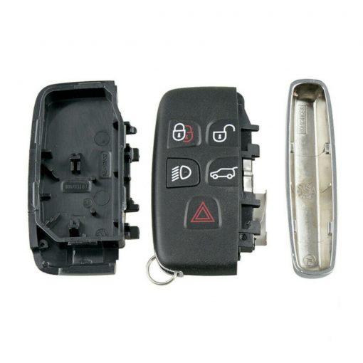 5 Button Remote Key Fob Case Shell Cover for Range Rover Evoque Sport Vogue 2