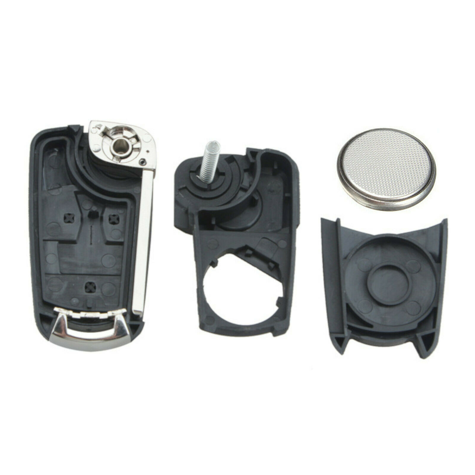2 Button Remote Car Key Fob Case w/ Battery for Vauxhall ...