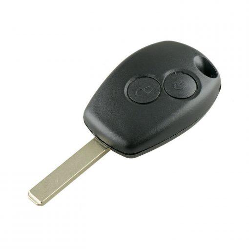 2 Button Remote Key Fob Case for Renault Trafic Clio Master Kangoo Twingo Wind w/ Logo