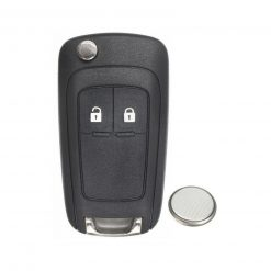 2 Button Remote Car Key Fob Case w/ Battery for Vauxhall Opel Zafira Meriva Astra