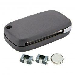 2 Button Remote Car Key Fob Case Repair Kit for Renault Clio Master Kangoo Modus 2