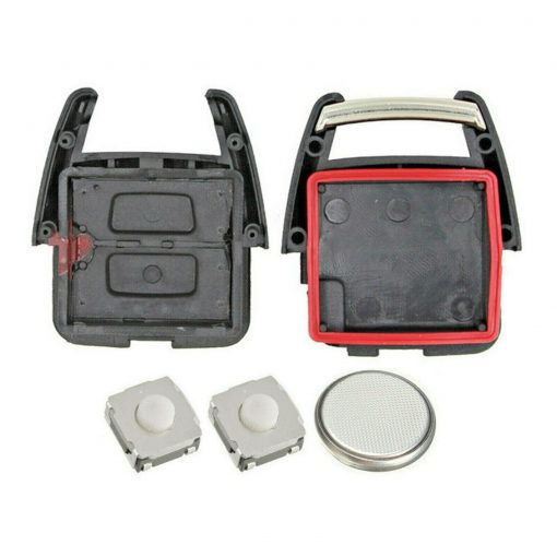 2 Button Remote Key Fob Case Repair Kit for Vauxhall Opel Astra Zafira Vectra Omega 1