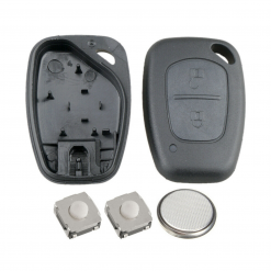 2 Button Remote Key Fob Case Repair Kit for Vauxhall Opel Vivaro Movano Van 3