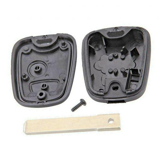 2 Button Replacement Remote Key Fob Case Shell for Citroen C1 C2 C3 Pluriel 2