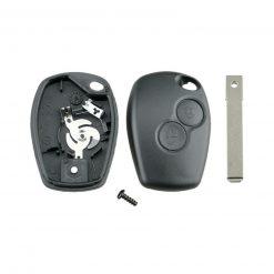 2 Button Replacement Remote Key Fob Case Shell for Dacia Duster Logan Sandero 2
