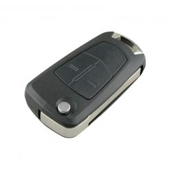 2 Button Remote Flip Car Key Fob Case for Vauxhall Opel Corsa D Astra H Signum