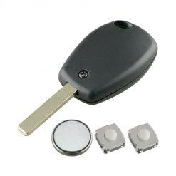 2 Button Remote Key Fob Case Repair Kit For Renault Trafic Clio Master Kangoo 2