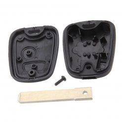 2 Button Replacement Remote Key Fob Case Fits Citroen C1 C2 C3 C4 Picasso VA2 3