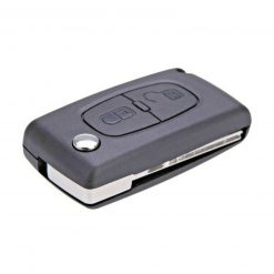 2 Button Replacement Remote Key Fob Case Shell Cover FitsCitroen Dispatch C8