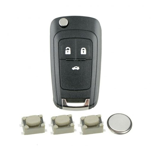 3 Button Remote Key Fob Case Repair Kit for Vauxhall Opel Astra J Insignia A Cascade 6