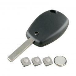3 Button Remote Key Fob Case Repair Kit For Renault Trafic Clio Master Kangoo 3