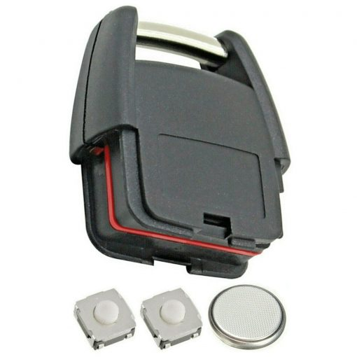 2 Button Remote Key Fob Case Repair Kit for Vauxhall Opel Astra Zafira Vectra Omega 2