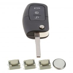 3 Button Remote Key Fob Case Repair Kit for Ford Focus Mondeo Ecosport 10