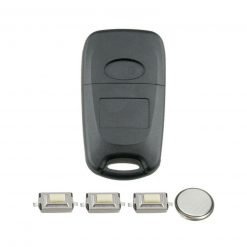 3 Button Remote Key Fob Case Repair Kit for Hyundai I20 IX20 I30 IX35 Veloster 1