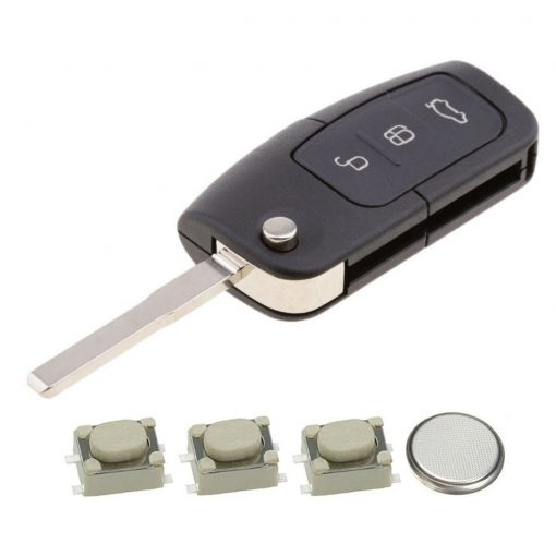 3 Button Remote Key Fob Case Repair Kit for Ford Focus Mondeo Ecosport 6