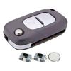 2 Button Remote Car Key Fob Case Repair Kit for Renault Clio Master Kangoo Modus