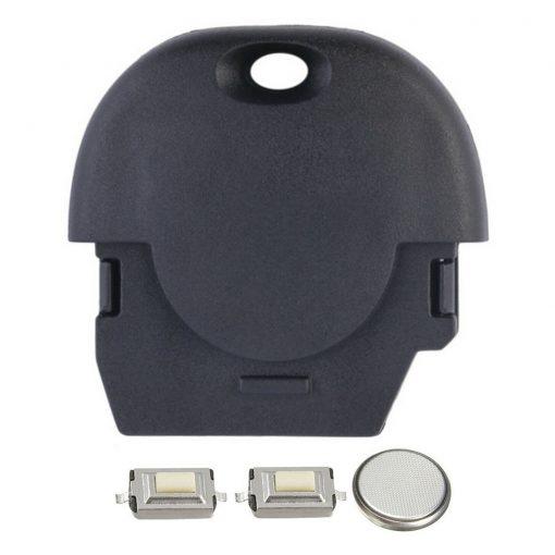 2 Button Remote Key Fob Case Repair Kit for NATs Nissan MICRA ALMERA PRIMERA X-TRAIL 3