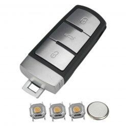 VW 3 Button Smart Key Kit